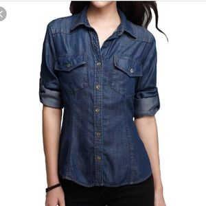 Women's Bella Dahl Chambray Shirt